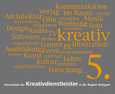 Das Branchenbuch weist Unternehmen in der Region Stuttgart den Weg zum passenden Kreativdienstleister